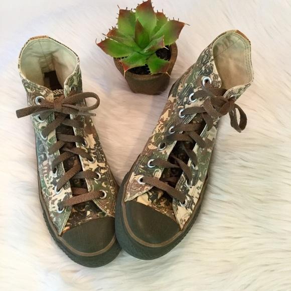 c98e27318308 Converse Shoes - Converse Camo High Top All Star